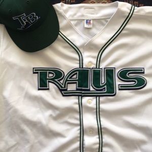 Tampa Bay Devil Rays 2005-2007 Authentic HM Jersey